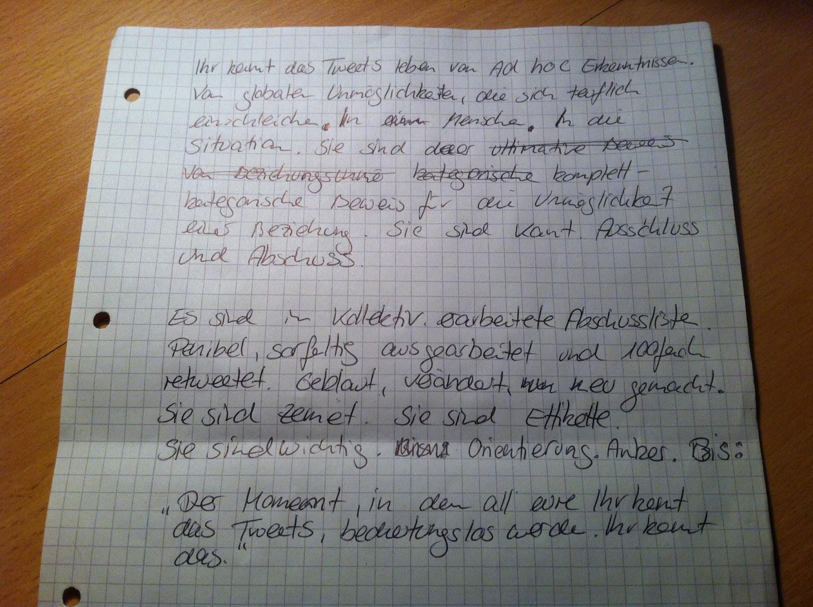 Schreibwerkstatt Bremen