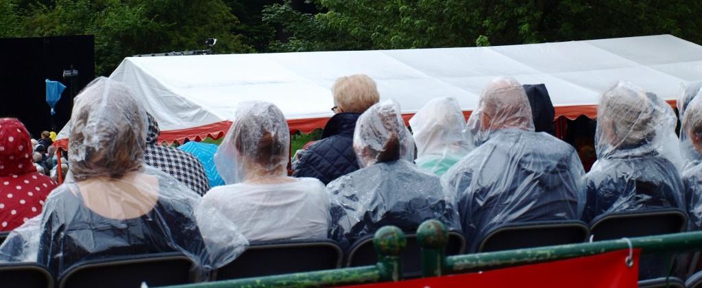 Shakespeare im Park Regen
