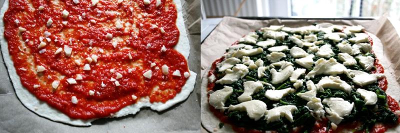 Spinatpizza_belegen