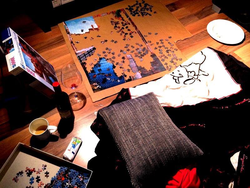 Puzzle Gemütlichkeit