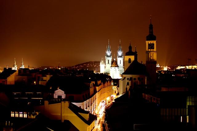 Ausblick Prag Altstadt T-Anker
