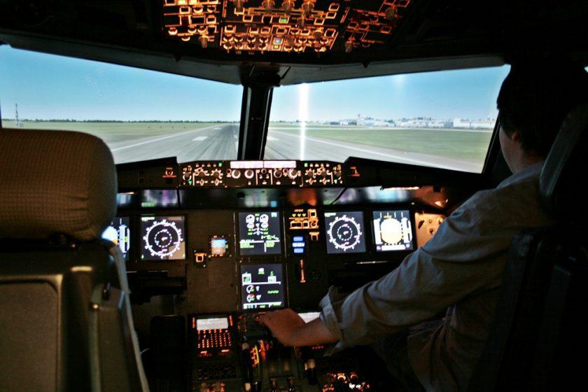 fliegen flugsimulator, A320, Airbus flugsimulator, flugsimulator bremen